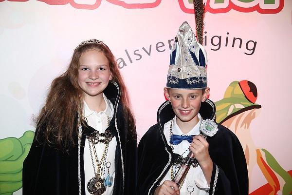 Jeugdprins Tjeu en Jeugdprinses Noortje!