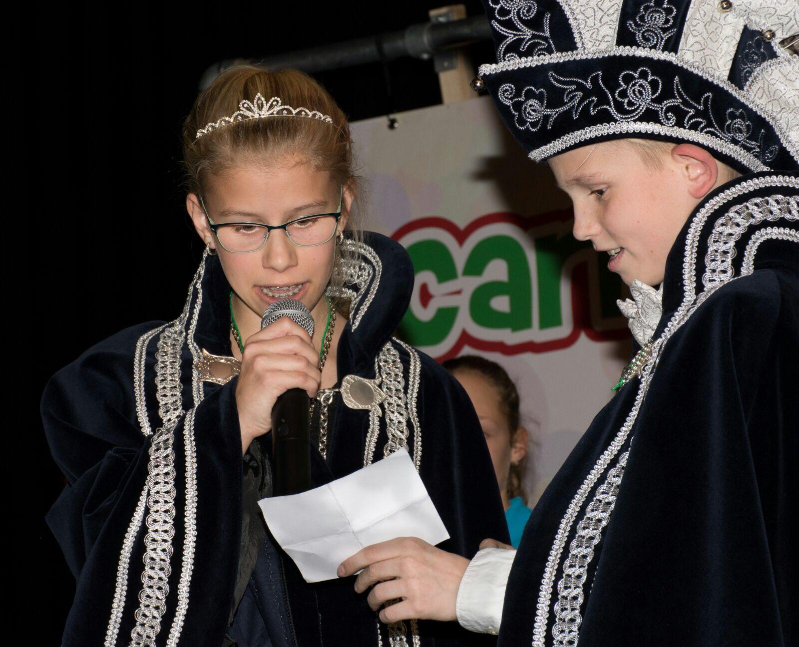 Jeugdprins Sil en Jeugdprinses Britt